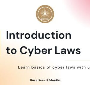 Cyber Law Course