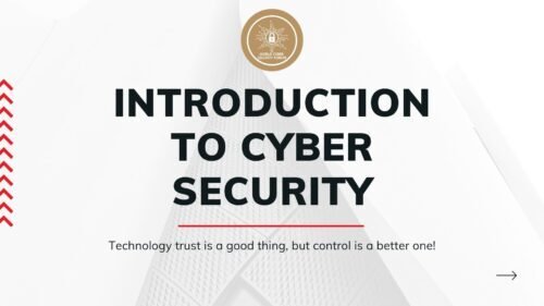 """Certified Course on """"Introduction of Cyber Security"""""""